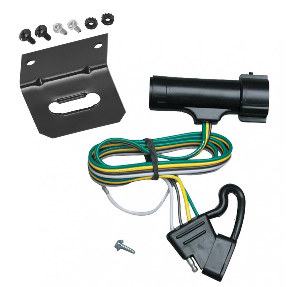 hight resolution of trailer wiring and bracket for 80 86 ford bronco f 150 250 350 80 83