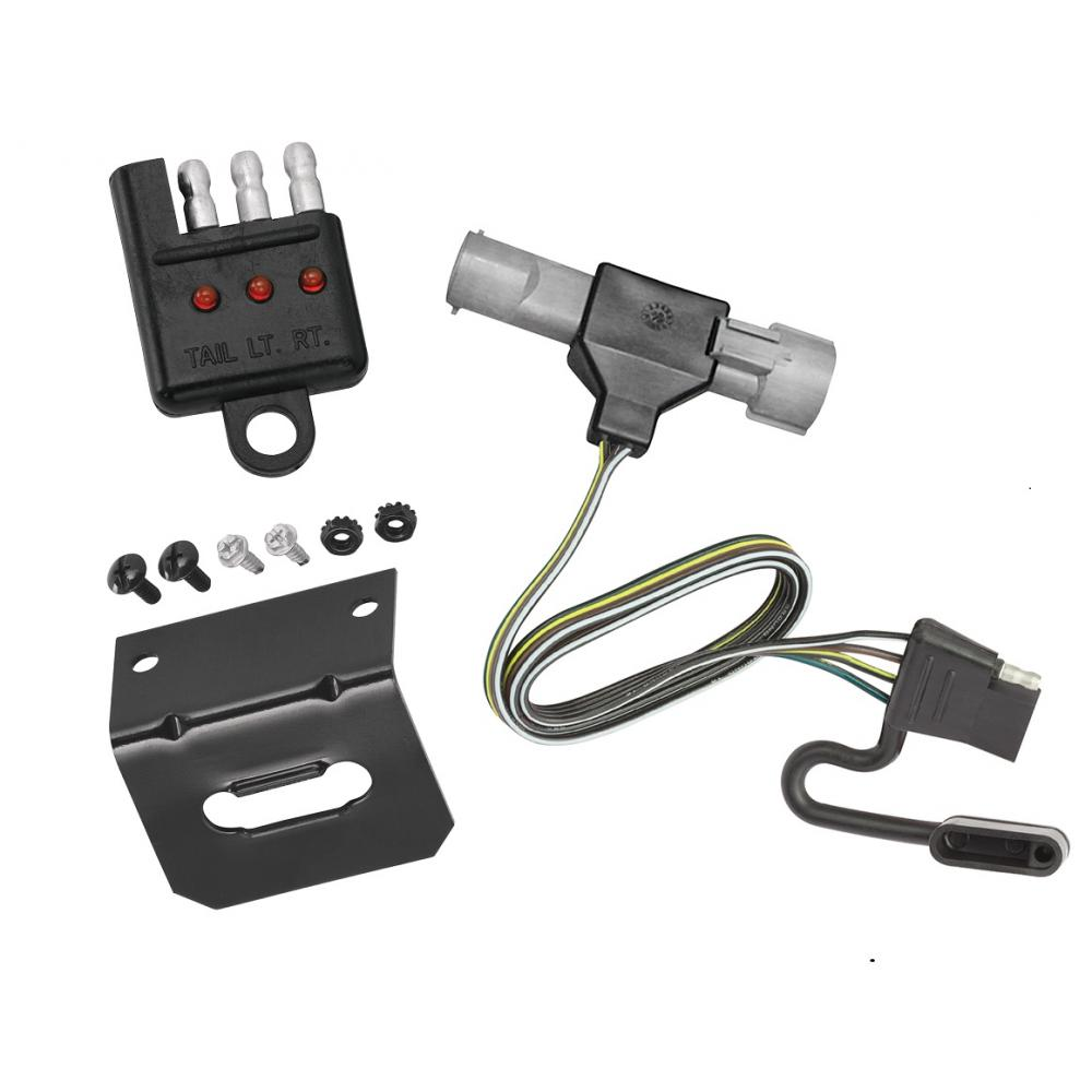 hight resolution of trailer wiring and bracket and light tester for 87 96 ford f 150 f 250