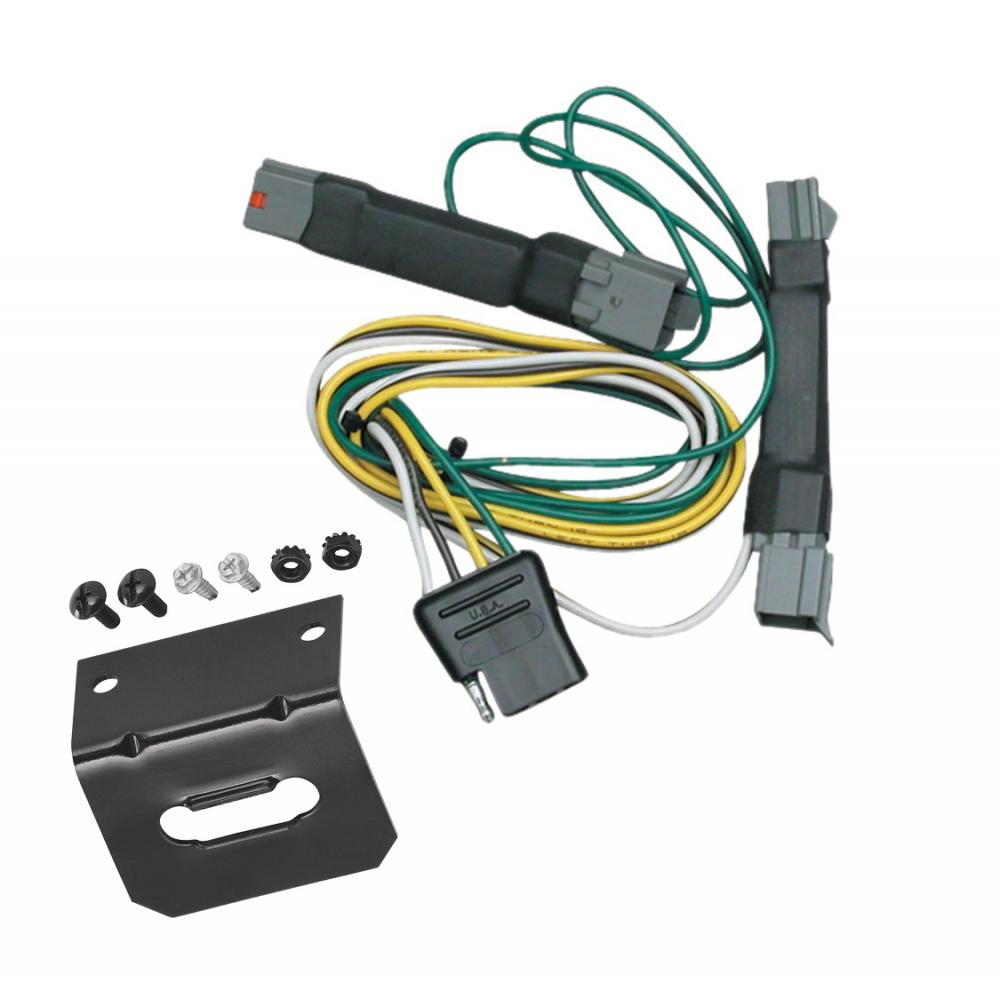 hight resolution of trailer wiring and bracket for 92 97 ford crown victoria mercury grand marquis 94 04 ford