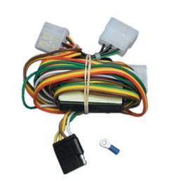 trailer wiring harness kit for 94 97 honda passport 92 97 isuzu rodeo all styles [ 1000 x 1000 Pixel ]