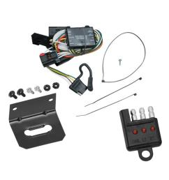 trailer wiring and bracket and light tester for 96 00 chrysler town chrysler voyager trailer wiring [ 1000 x 1000 Pixel ]