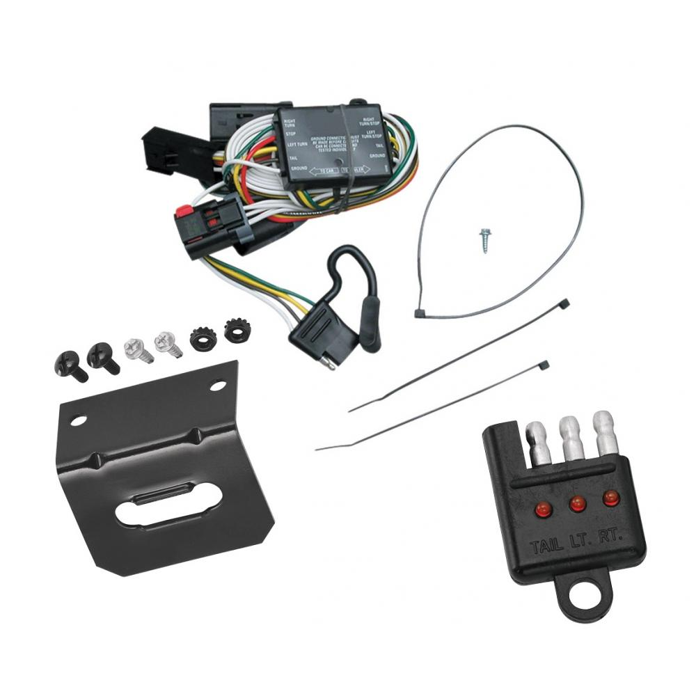 hight resolution of trailer wiring and bracket and light tester for 96 00 chrysler town chrysler voyager trailer wiring