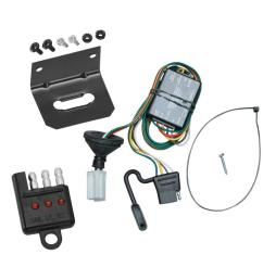 trailer wiring and bracket and light tester for 96 99 acura slx 92 02 isuzu trooper  [ 1000 x 1000 Pixel ]