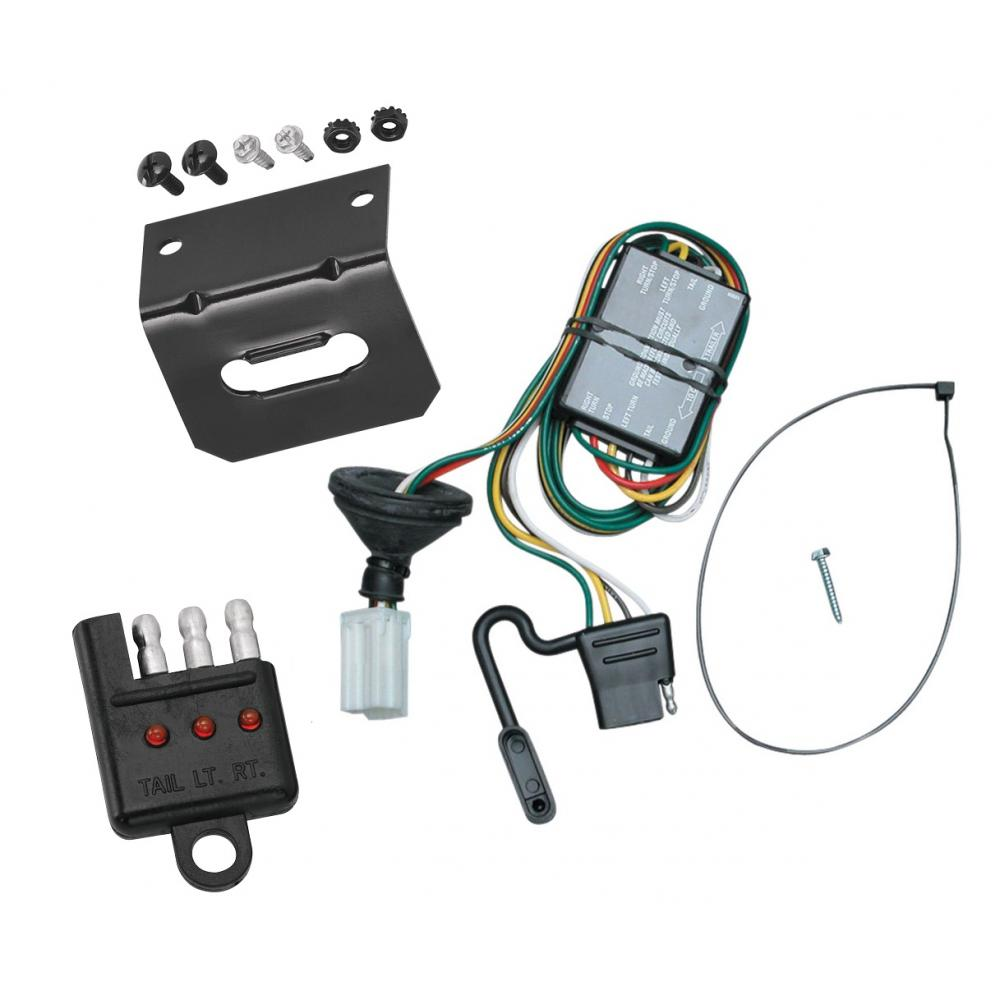medium resolution of trailer wiring and bracket and light tester for 96 99 acura slx 92 02 isuzu trooper