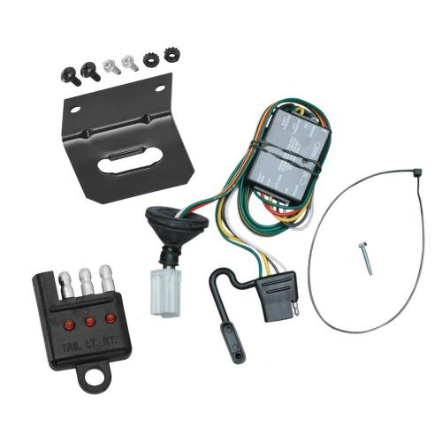 small resolution of trailer wiring and bracket and light tester for 96 99 acura slx 92 02 isuzu trooper