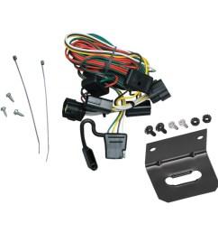 trailer wiring and bracket for 98 02 honda passport 98 00 isuzu amigo 98 04 rodeo  [ 1000 x 1000 Pixel ]