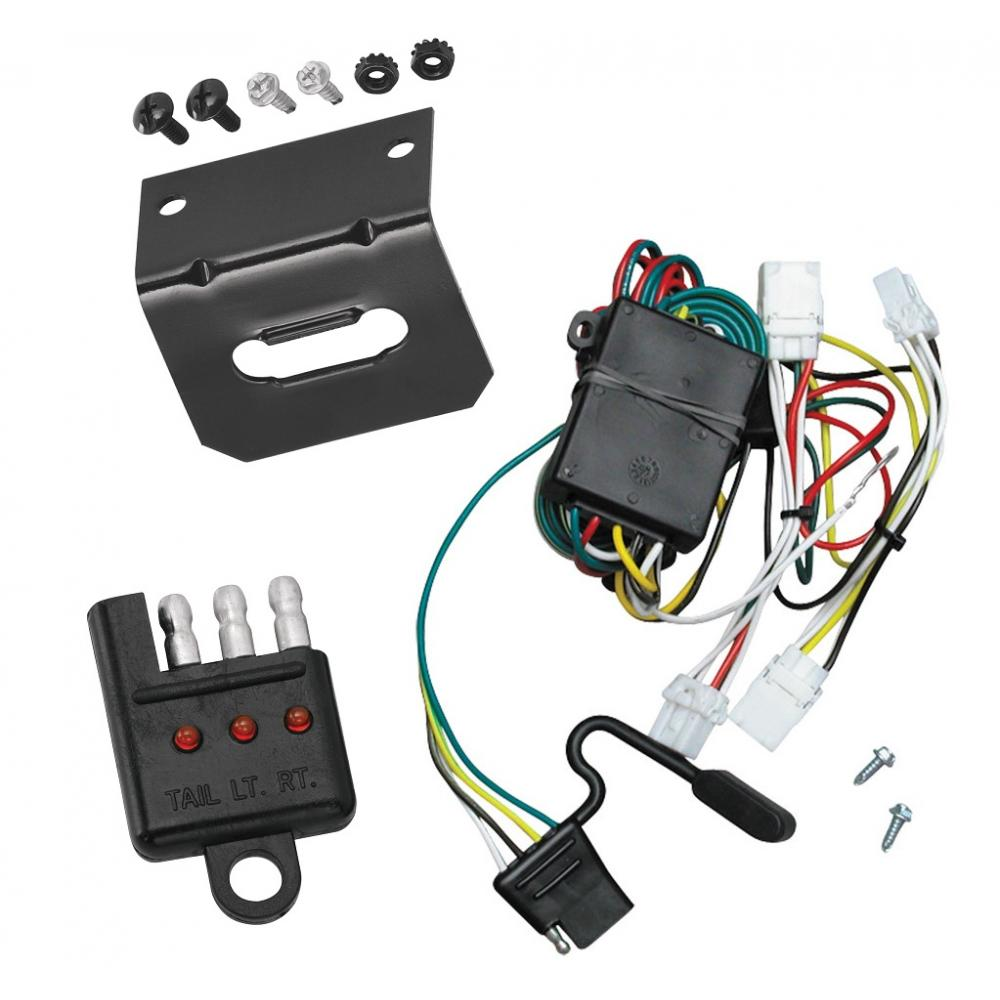 hight resolution of trailer wiring and bracket and light tester for 97 03 infiniti qx4 98 01 nissan altima 96 04 pathfinder