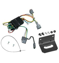 trailer wiring and bracket for 98 04 nissan frontier 1998 quest mercury villager 4 flat harness plug play [ 1000 x 1000 Pixel ]