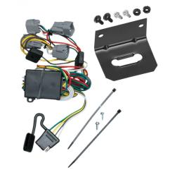 trailer wiring and bracket for 98 04 chrysler 300m concorde lhs dodge intrepid 4 flat harness plug play [ 1000 x 1000 Pixel ]