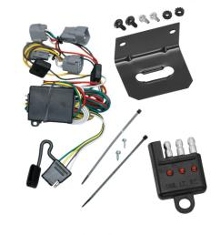 trailer wiring and bracket and light tester for 98 04 chrysler 300m concorde lhs dodge intrepid  [ 1000 x 1000 Pixel ]