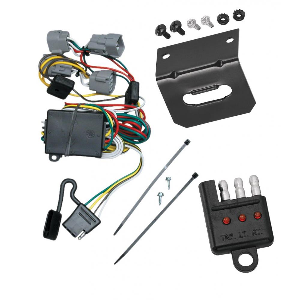 medium resolution of trailer wiring and bracket and light tester for 98 04 chrysler 300m concorde lhs dodge intrepid