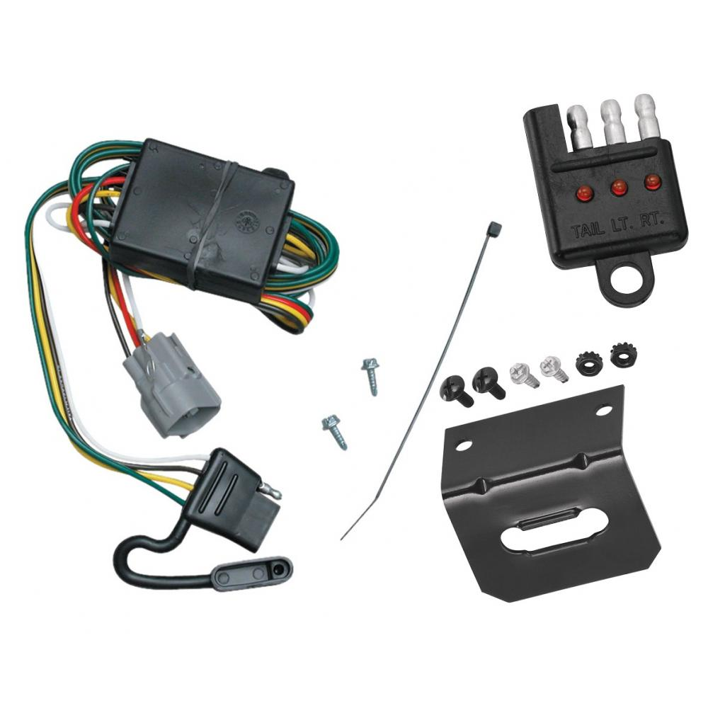 hight resolution of trailer wiring and bracket and light tester for 98 99 toyota land cruiser lexus lx470 all