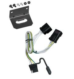 trailer wiring and bracket for 00 10 jeep chrysler dodge dakota aspen liberty sprinter ram durango  [ 1000 x 1000 Pixel ]