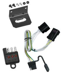 trailer wiring and bracket and light tester for 00 10 jeep chrysler wiring kit trailer tow 7way fits dodge durango 2000 [ 1000 x 1000 Pixel ]