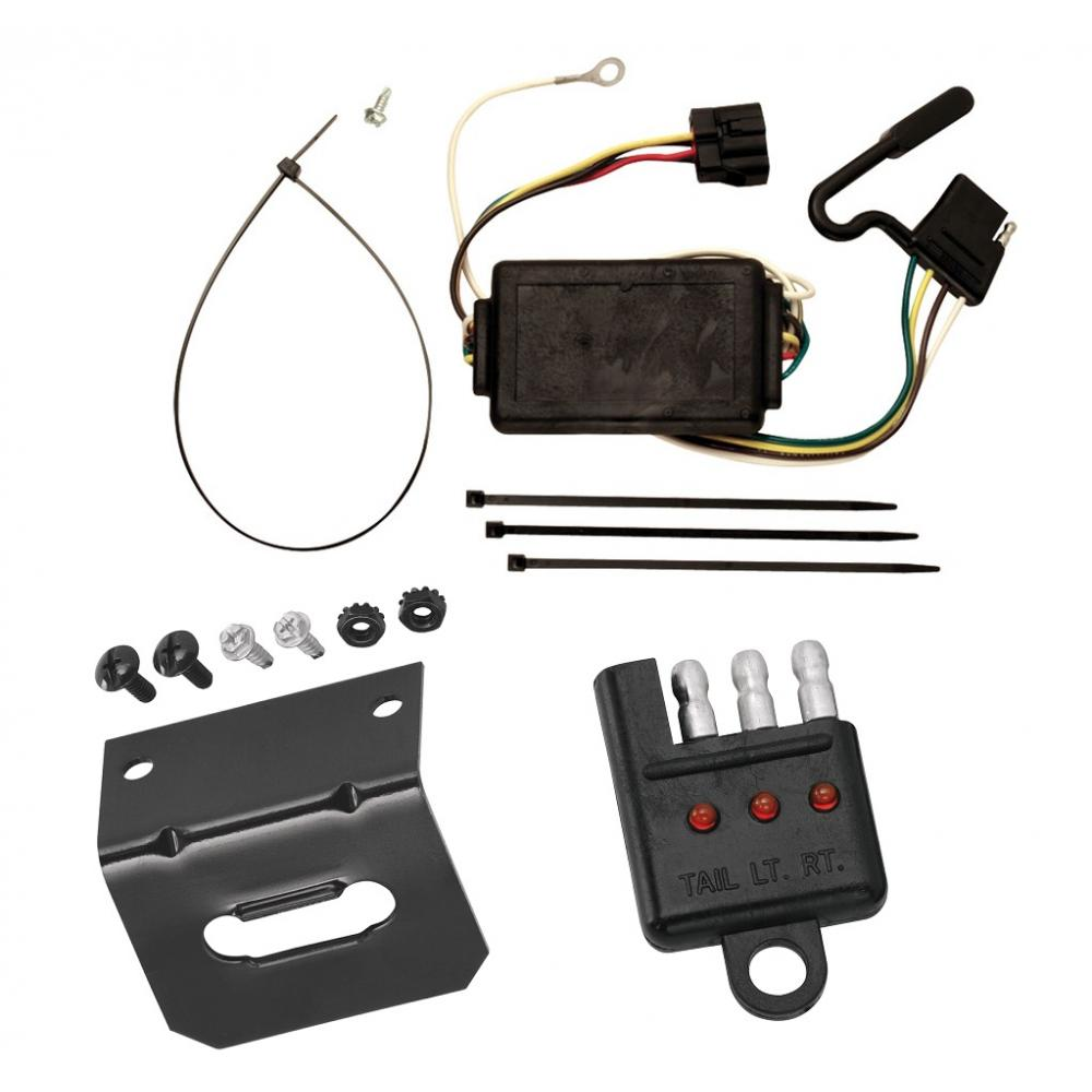medium resolution of trailer wiring and bracket and light tester for 05 10 kia sportage 6 cyl