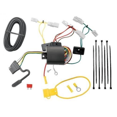 small resolution of trailer wiring harness kit for 14 19 toyota corolla 07 17 camry 07 14 fj cruiser