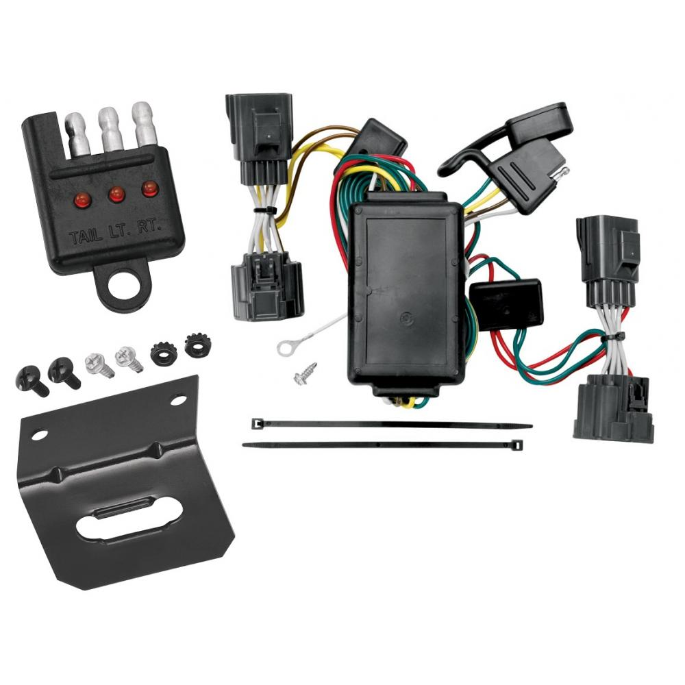 hight resolution of trailer wiring and bracket and light tester for 06 10 jeep commander tow ready custom fit vehicle wiring for jeep commander 2007 118408