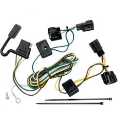 trailer wiring harness kit for 98 06 jeep wrangler all styles tj canada only  [ 1000 x 1000 Pixel ]