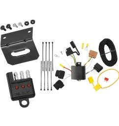 trailer wiring and bracket and light tester for 11 13 ford fiesta 4 dr sedan 06 12 fusion  [ 1000 x 1000 Pixel ]