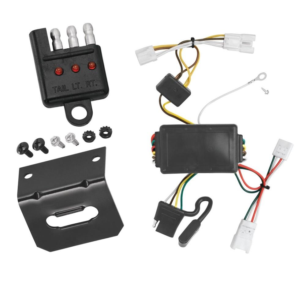 hight resolution of trailer wiring and bracket and light tester for 07 10 hyundai elantra 06 09 hyundai sonata