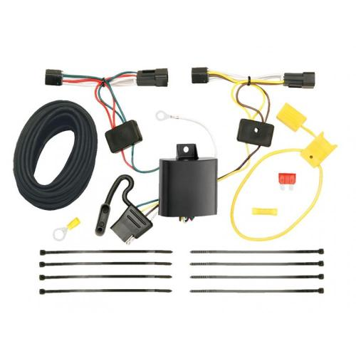 small resolution of trailer wiring harness kit for 12 15 chevrolet captiva sport 08 09 saturn vue