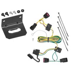 trailer wiring and bracket for 08 12 buick enclave chevy malibu except ltz 09 12 traverse  [ 1000 x 1000 Pixel ]