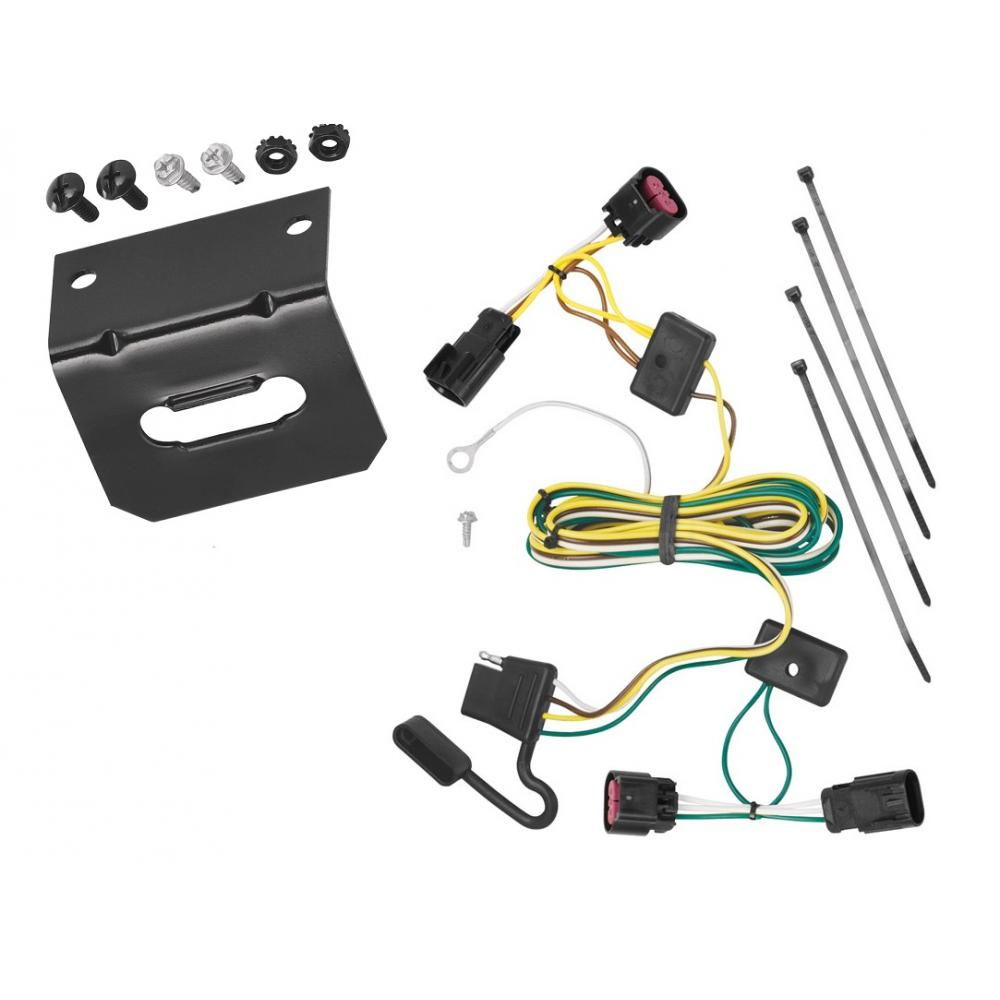 medium resolution of trailer wiring and bracket for 08 12 buick enclave chevy malibu except ltz 09 12 traverse