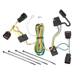 trailer wiring harness kit for 08 12 buick enclave chevy malibu buick enclave trailer wiring harness [ 1000 x 1000 Pixel ]