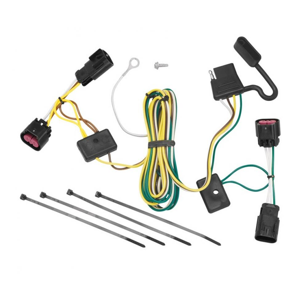 hight resolution of trailer wiring harness kit for 08 12 buick enclave chevy malibu buick enclave trailer wiring harness