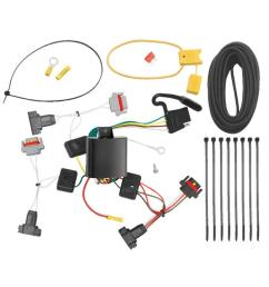 trailer wiring harness kit for 01 10 chrysler pt cruiser all styles 05 10 convertible [ 1000 x 1000 Pixel ]