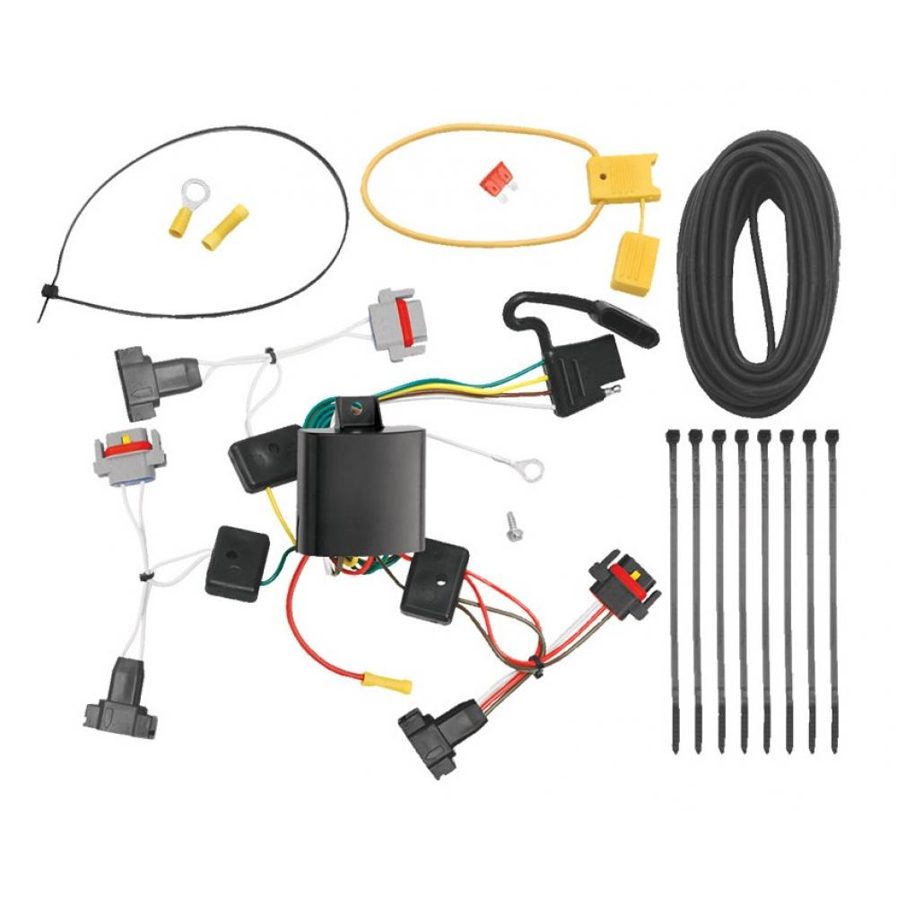 medium resolution of trailer wiring harness kit for 01 10 chrysler pt cruiser all styles 05 10 convertible