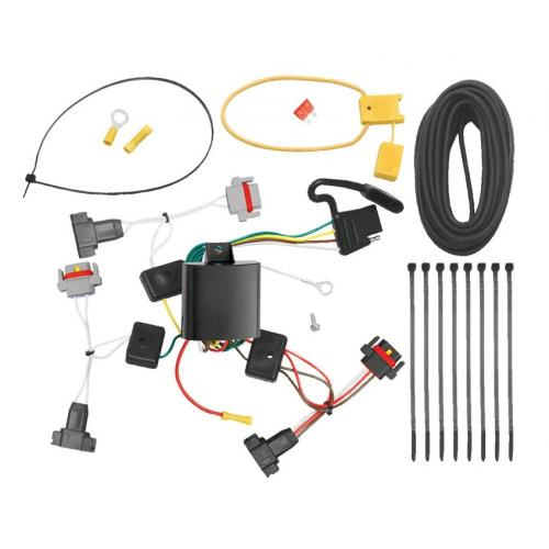 small resolution of trailer wiring harness kit for 01 10 chrysler pt cruiser all stylestrailer wiring harness kit for