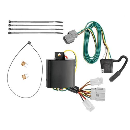 small resolution of trailer wiring harness kit for 07 11 honda element all styleshonda element wiring harness 19