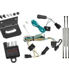 trailer wiring and bracket and light tester for 09 20 ford flex all styles 4 flat harness  [ 1000 x 1000 Pixel ]