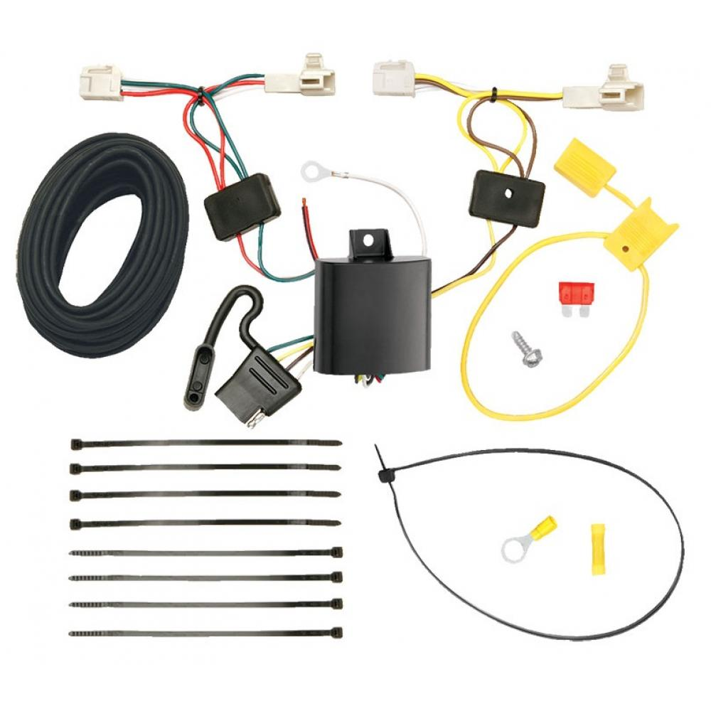 hight resolution of trailer wiring harness kit for 14 19 mitsubishi outlander except sport 11 12 toyota avalon