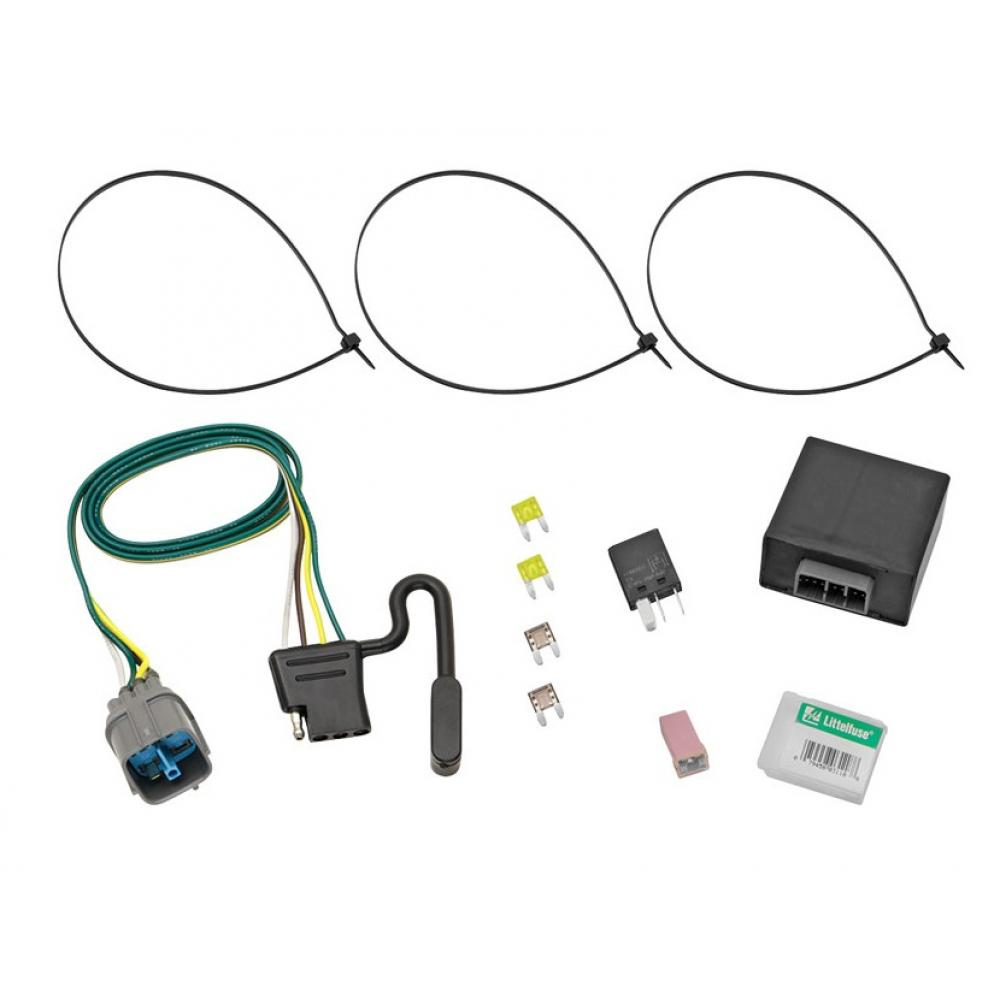 hight resolution of trailer wiring harness kit for 09 14 honda ridgeline 09 11 pilot all styles