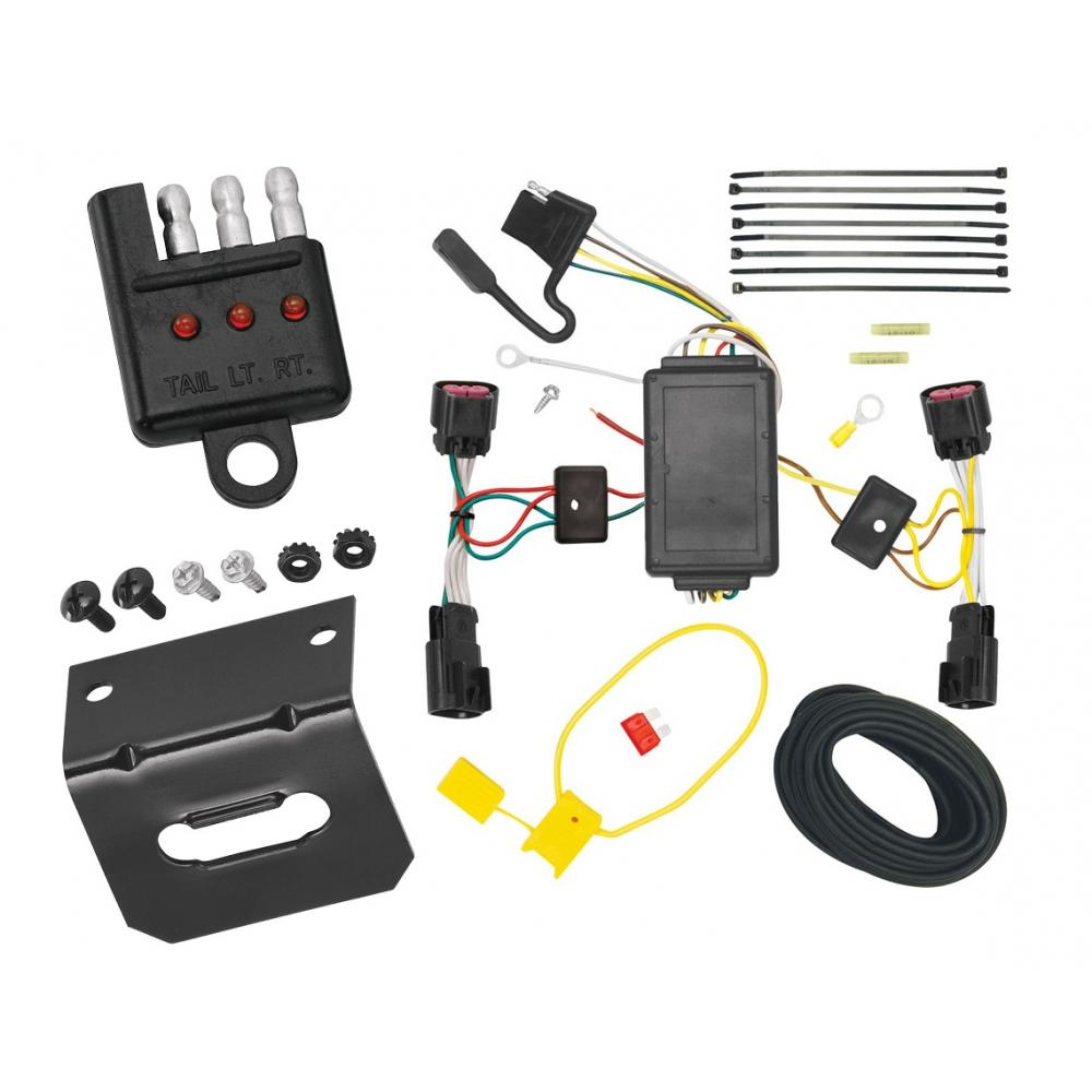 hight resolution of trailer wiring and bracket and light tester for 10 17 chevy equinox gmc terrain all styles