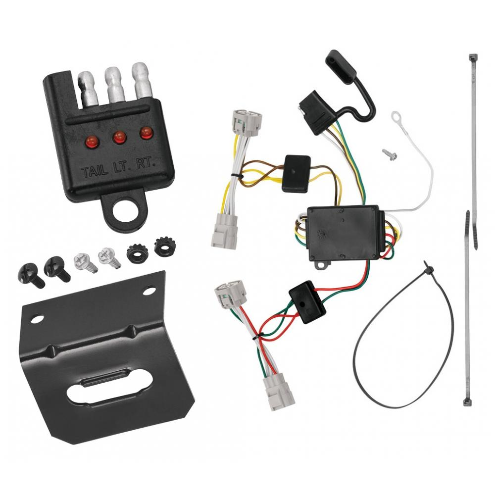 hight resolution of trailer wiring and bracket and light tester for 09 15 toyota tacoma 93 98 t100