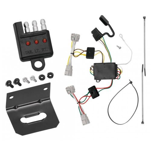 small resolution of trailer wiring and bracket and light tester for 09 15 toyota tacoma 93 98 t100