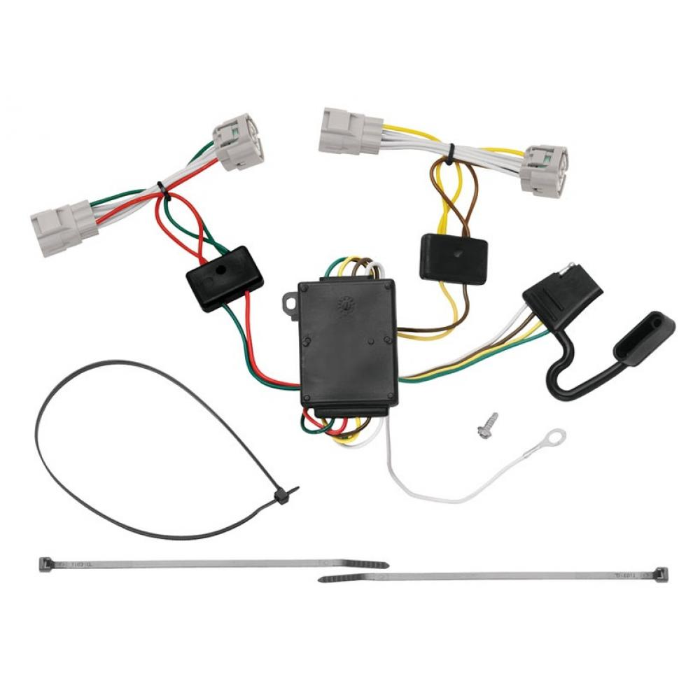 hight resolution of trailer wiring harness kit for 09 15 toyota tacoma 93 98 t100 08 12toyota tacoma hitch