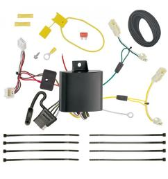 trailer wiring harness kit for 11 14 toyota sienna all styles 15 19 sienna se [ 1000 x 1000 Pixel ]