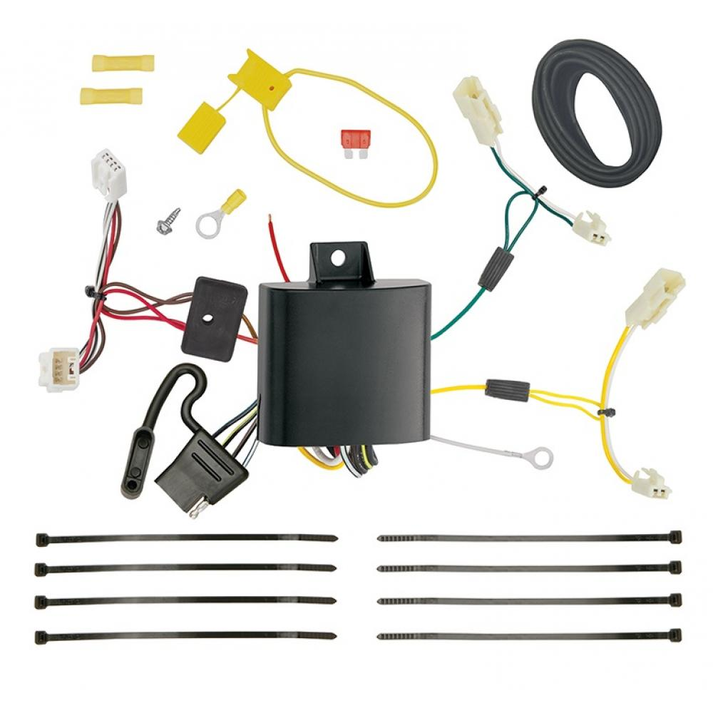 hight resolution of trailer wiring harness kit for 11 14 toyota sienna all styles 15 19 sienna se