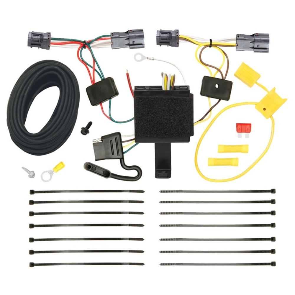 hight resolution of trailer wiring harness kit for 11 13 kia sorento base i4 ex i4 ex v6