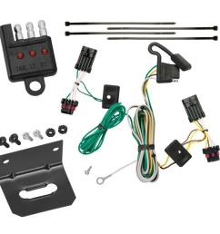 trailer wiring and bracket and light tester for 00 05 chevrolet impala all styles 4 flat harness  [ 1000 x 1000 Pixel ]