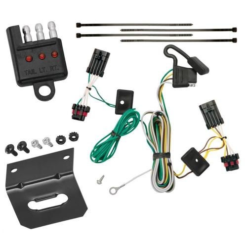 small resolution of trailer wiring and bracket and light tester for 00 05 chevrolet impala all styles 4 flat harness