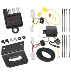 trailer wiring and bracket and light tester for 10 12 hyundai genesis 2 dr coupe 4 flat harness  [ 1000 x 1000 Pixel ]