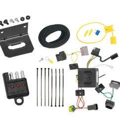 trailer wiring and bracket and light tester for 11 18 dodge journey w led taillights 4 flat harness plug play [ 1000 x 1000 Pixel ]