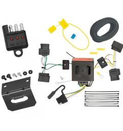 trailer wiring and bracket and light tester for 08 14 ford e 150 e 250 econoline  [ 1000 x 1000 Pixel ]