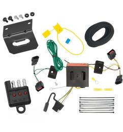 trailer wiring and bracket and light tester for 08 17 jeep patriot 08 10 chrysler town  [ 1000 x 1000 Pixel ]
