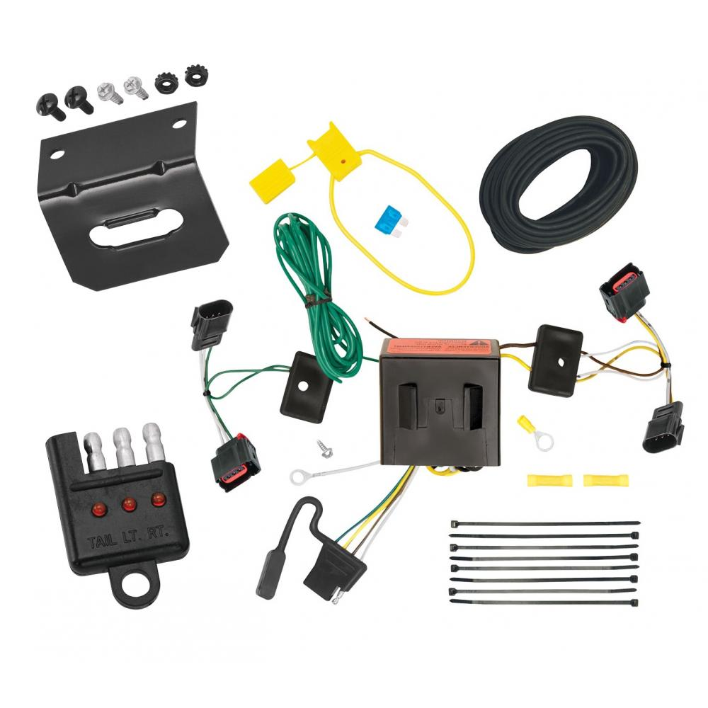 medium resolution of trailer wiring and bracket and light tester for 08 17 jeep patriot 08 10 chrysler town